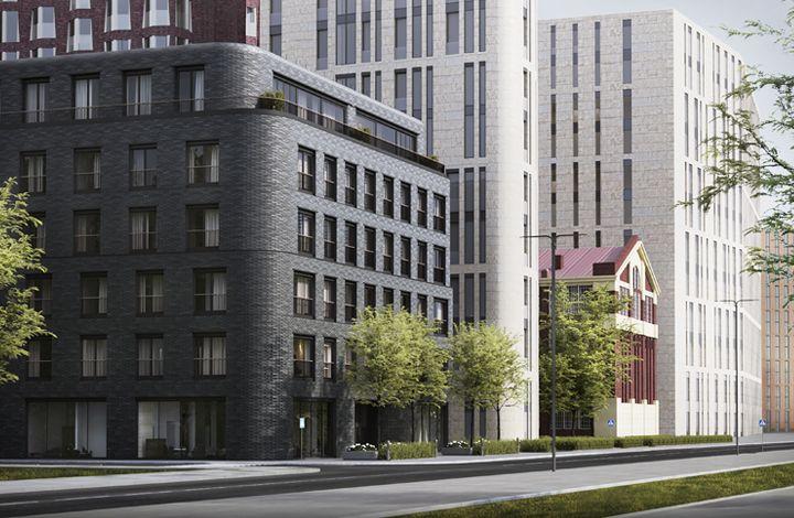 Коммерческая недвижимость в жк новый дом в хамовниках Аренда офиса Староконюшенный переулок